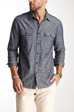 Zhu Modern Chambray Shirt