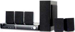 RCA DVD Home Theater System by RCA. $128.00. Dolby Digital/MPEG/PCM via Salida Coaxial.Built-in Dolby Digital AC-3 5.1 Channel Decoder.. Compatible con DVD/DVD+/-RW,DVD+/R,DVD,CD,CD-R/RW,MP3,JPEG/CD de Imagenes KODAK.. Full Function Remote Control./Volume control./Memory Play.. 80 Memory Preset Radio Station./Composite and Component Video output.. Dolby Prologic II/ Built-in AM/FM Digital Radio./Amplifier: 105 Watts.. RCA DVD Home Theater System MAXES OUT your ente...