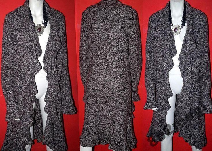 Marks Spencer Oryginalny płaszcz brąz melanż 50-52 (5035596176) - Allegro.pl - Więcej niż aukcje.