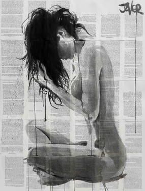 "Saatchi Art Artist Loui Jover; Drawing, ""seasons"" #art"