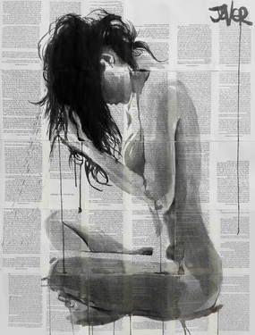 "Saatchi Art Artist Loui Jover; Drawing, ""seasons"" #art"