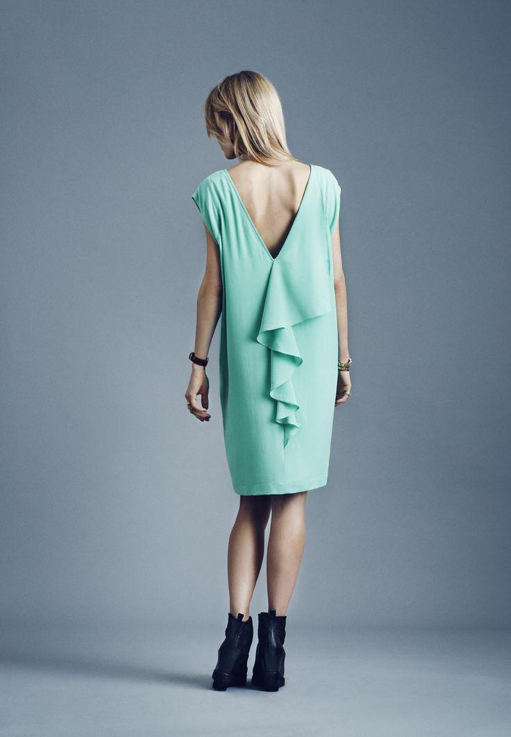 Y.A.S Farrow dress #yasapparel
