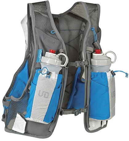 "11.0 oz / $130 Editor's choice. Sold with two 20oz front bottles The SJ Ultra 2.0, designed with input from Scott Jurek, is a vest for those who put in miles worthy of the emeritus ultrarunning champ. Between a large waterproof compartment in the back, two 20-ounce water-bottle pockets in front, zip pockets on … Continue reading ""Ultimate Direction SJ Ultra Vest 2.0"""
