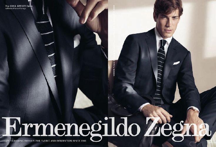Ermenegildo Zegna, Gildo Zegna lub po prostu zegna to najsławniejsza włoska Marka. Klasyka stylu, formy i męskiej elegancji. Od 1910 roku zachwyca jakością wełen, pochodzących z Australii a także wzorami. Lekkość i zwiewność materiałów sprawiła, że Zegna została doceniona i jest dostawcą garniturów dla marek Gucci, Yves Saint Laurent, czy Tom Ford.