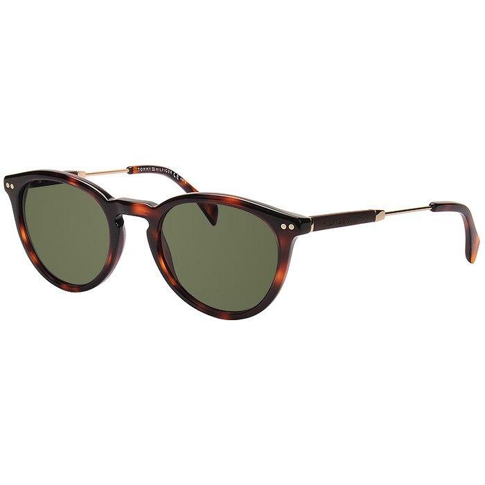Óculos Tommy Hilfiger TH 1198/S Marrom Demi com Dourado
