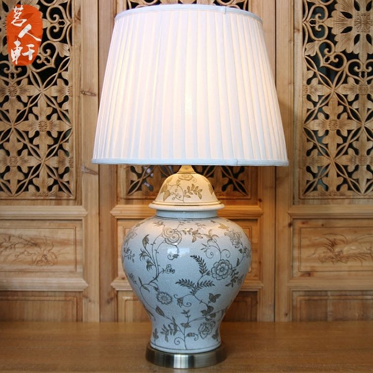 Cheap table lamp, Buy Quality e27 table lamp directly from China lamp table lamp Suppliers: China Style Handmade Vintage Elegant Ceramic Fabric Led E27 Table Lamp for Wedding Decor Living Room Bedroom AC 80-265V