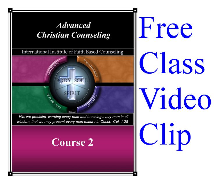 Free class experience! Marital counseling video clip from Course 2  In this course session, it teaches premarital issues, reasons why marriages fail, stages of a maturing marriage, priorities in marriage, roles in marriage, communication, how to resolve a conflict, prioritizing of individual needs, basic goals in marriage counseling, and steps to healthy marriage relationship. Experience our course before you take it!