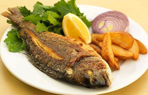 Alabalık, Lüfer Ve İzmarit Balığı Izgarası