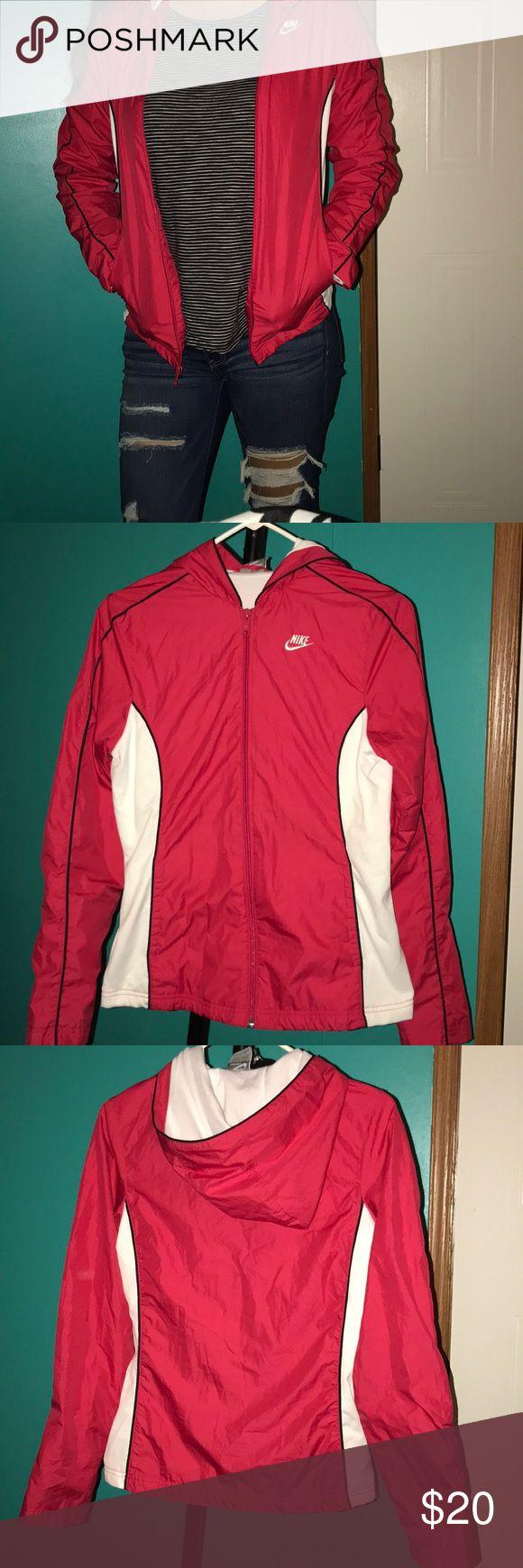 Hot pink Nike sports jacket Good condition Nike Jackets & Coats