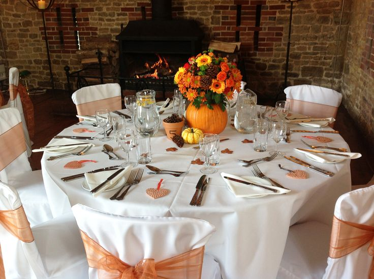 Autumn wedding ideas. www.bartholomewbarn.co.uk #autumn #fall #wedding #weddingideas #wedspiration