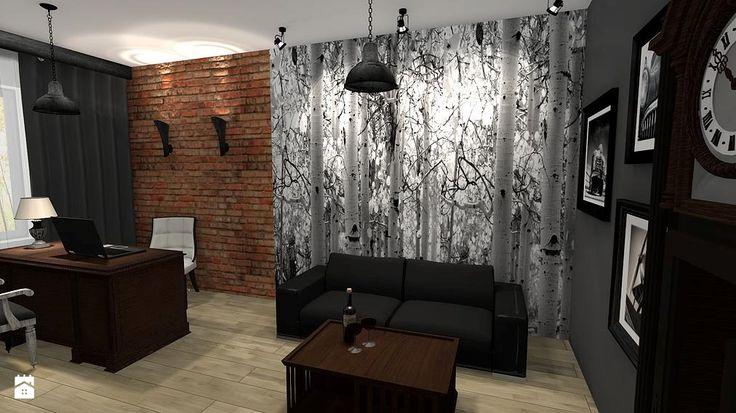 Biuro styl Kolonialny - zdjęcie od Atena Projektowanie wnętrz - Biuro - Styl Kolonialny - Atena Projektowanie wnętrz