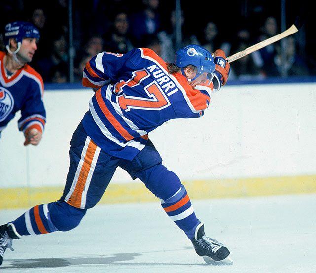 Jari Kurri | Edmonton Oilers | NHL | Hockey