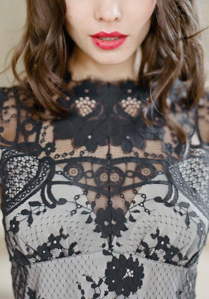 Cheyenne Gown -  Black