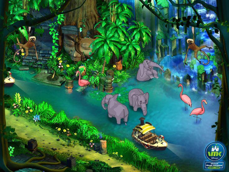 Jungle Mural Wall Murals Pinterest Cartoon Forests