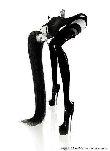 EDLAND MAN Photography and Art: Long Legged Ladies