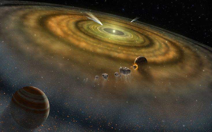 ¿CÓMO ARMAR UN PLANETA? Hoy el astrónomo Néstor Espinoza nos cuenta qué se necesita para que un planeta efectivamente logre formarse.