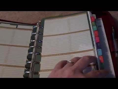 Best Planner  Filofax Videos Images On   Planner