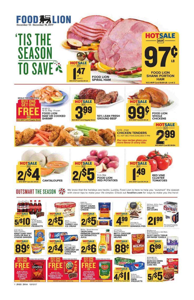 Food lion weekly ad december 13 19 2017 food lion