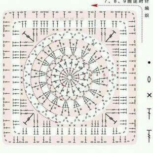 Boa tarde gente!   Achei essa manta e almofada lindas!   O gráfico está ai.   Escolham as cores das linhas, peguem a agulha e b...