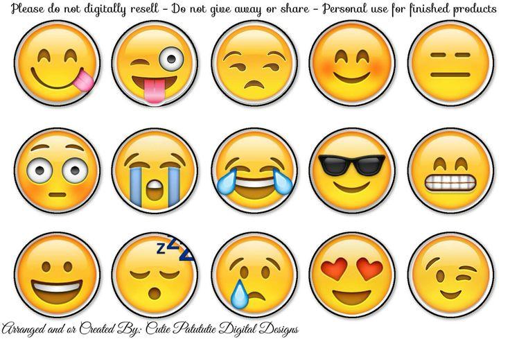 Free Emoji Bottle cap images
