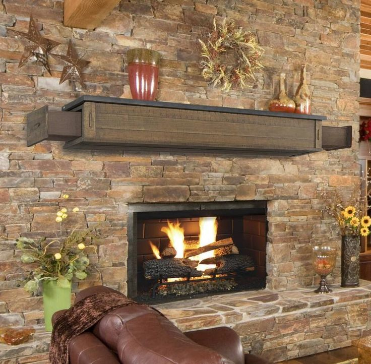 40 Wonderful Diy Fireplace Designs Fireplace Mantel Shelf