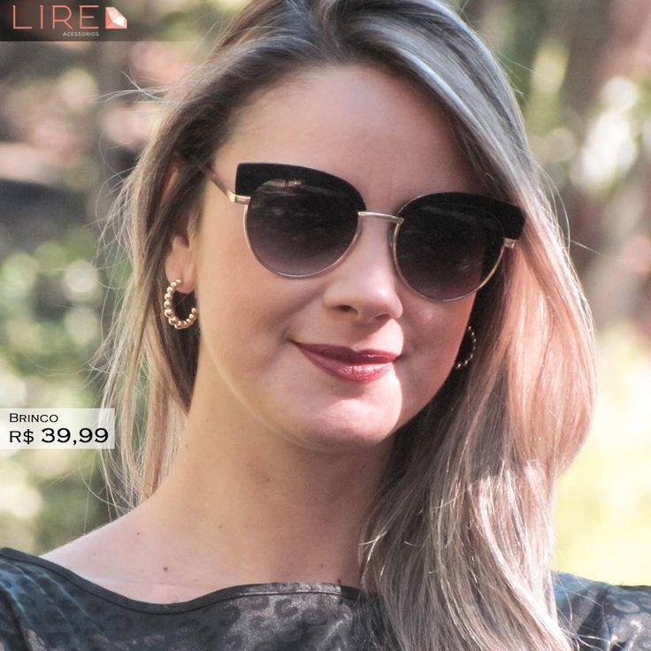 Fique sempre na moda com nossas semijoias.   Whatsapp 11 95249-6050 www.lireacessorios.com.br #acessorios #semijoias #moda #ouro #joiasfolheadas #amojoias #lookdodia #lireacessorios #amolire #instajoia #instasemijoia #folheadoaouro #tendencia #estilo #folheados #euquero #love #cute #fashion #beauty #jewelry #glam #trendy #fashionista #accessory #instajewelry #stylish #fashionjewelry #stile #brincos