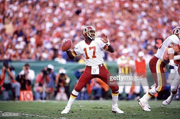 Today we celebrate Washington Redskins' Doug Williams. Super Bowl XXII against the Denver Broncos he was the first black quarterback to play in a Super Bowl and to date the only one to win one. He was also named the game's MVP. Ronald C. Modra/Sports Imagery/Getty Images. . Happy #SuperBowlSunday! . #BlackHistoryMonth #BlackHistory #BlackExcellence #Quarterback #FirstBlack #inspiration #motivation #blackboyjoy #history #goals #sundayfunday #nfl #redskins #repost #rp #atlanta #atlantaplanner…