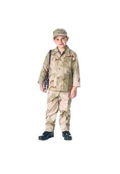 Jr GI Kids Tri Color Desert Camo 6 Pkt BDU Pants ! Buy Now at gorillasurplus.com