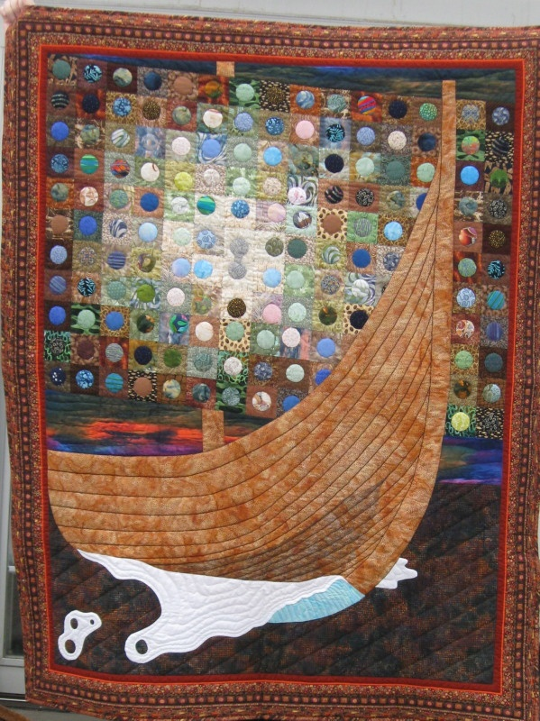 Shirley Peterson's Viking Quilt Main Line Quilters    A quilt guild based on Philadelphia's historic Main Line