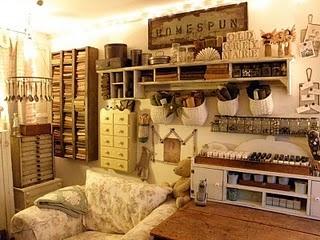 #Vintage style #craft #room