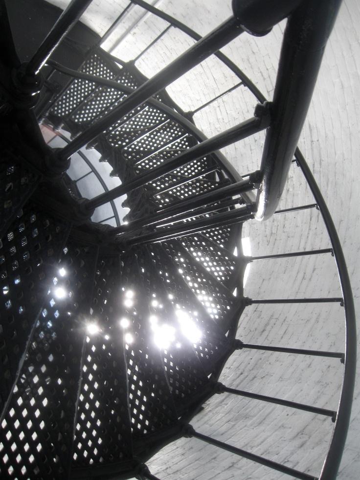 Lighthouse steps, St. Augustine Beach