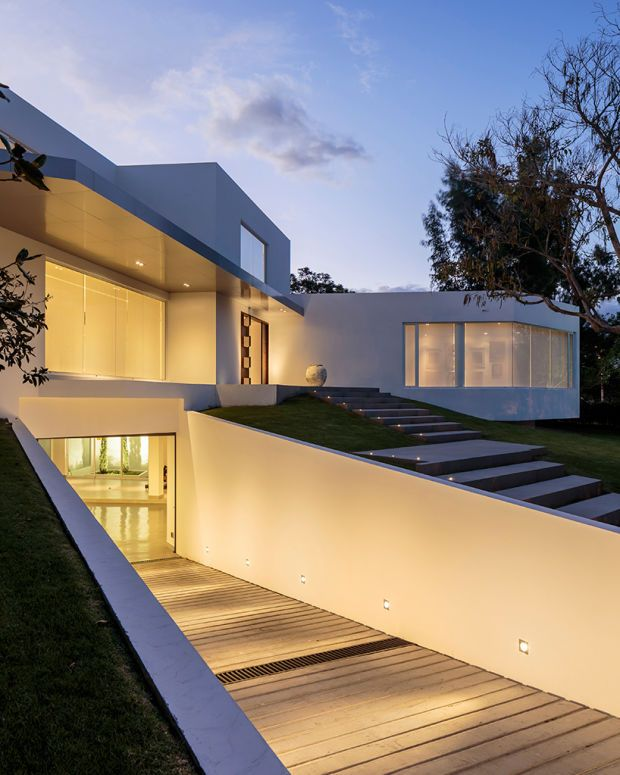 This Ecuadorian Mansion Comes With A Ridiculously Cool Underground Garage