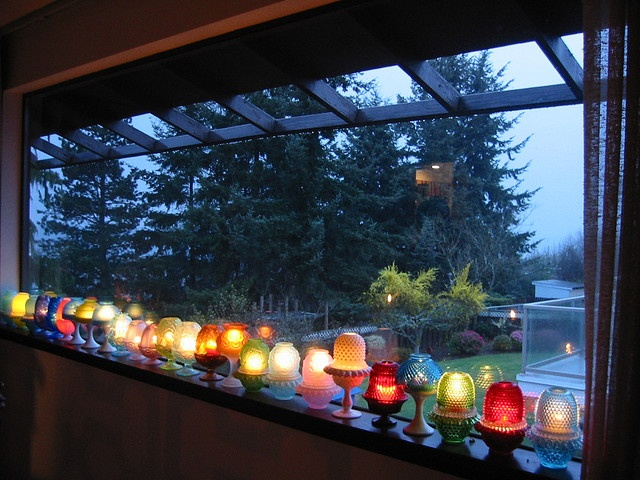 Fairy Lamps to guide each one home.