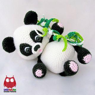 25+ best ideas about Crochet Panda on Pinterest Crochet ...