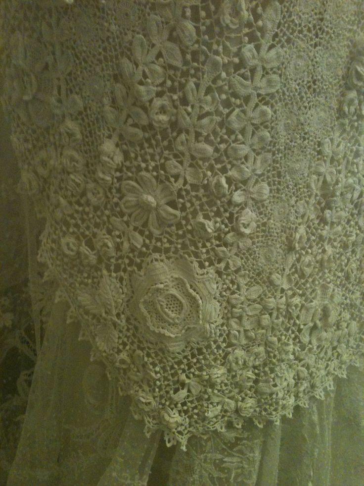 Sheelin Lace Museum Irish Crochet Lace  | The Sheelin Lace Museum Irish Crochet Lace Section