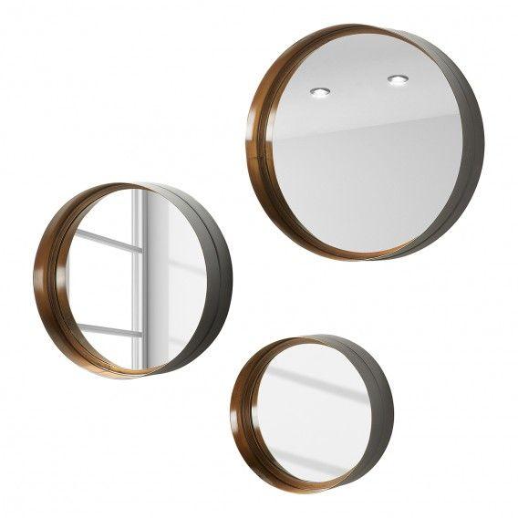 Spiegel Wilton 3 Teilig Spiegel Home24 Und Metall