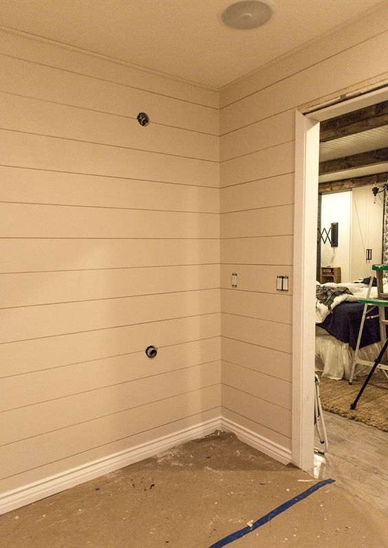 Diy Shiplap Video Tutorial The Easy And Inexpensive Way