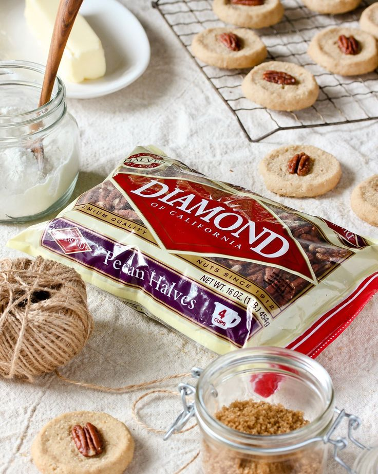 Recipe: Brown Butter Pecan Shortbread Cookies — Diamond of California®