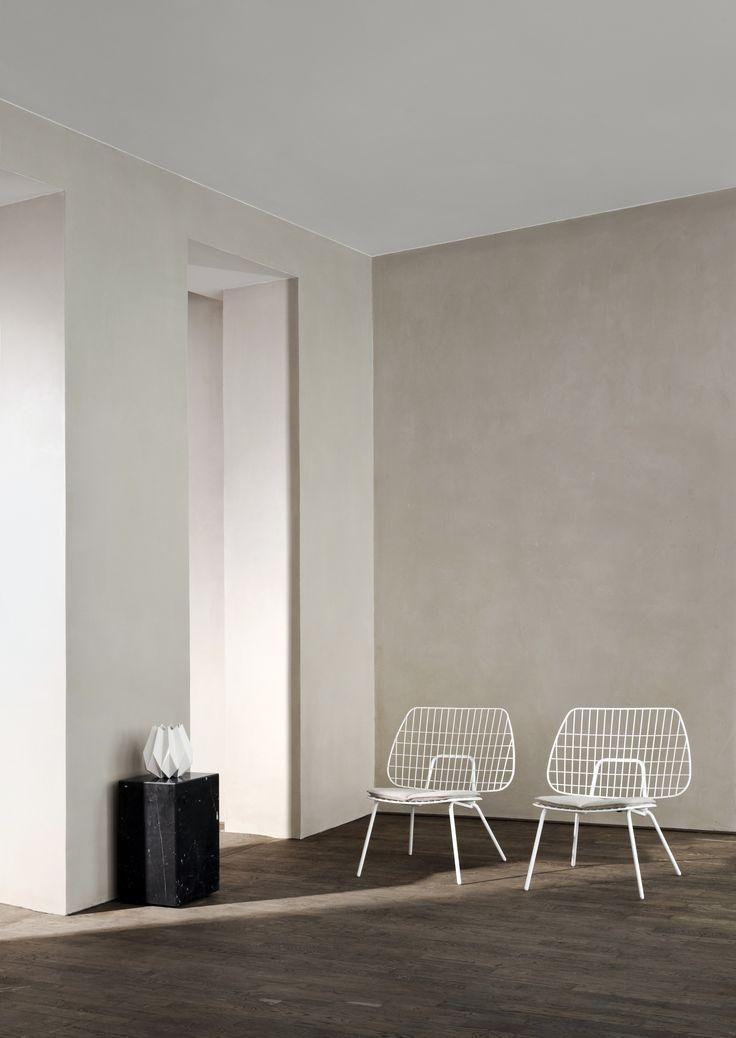 MENU Shoot, Kinfolk Studio, String Chair, Marble Plinth, Folded Vase