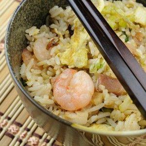 Рис по-китайски с морепродуктами