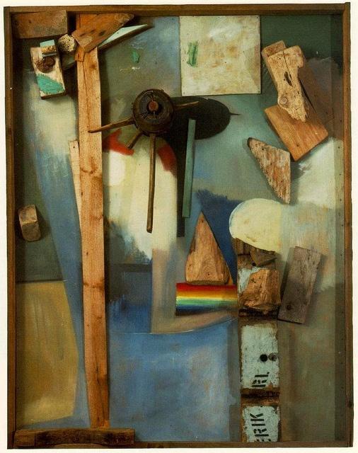 Rainbow Picture, Kurt Schwitters
