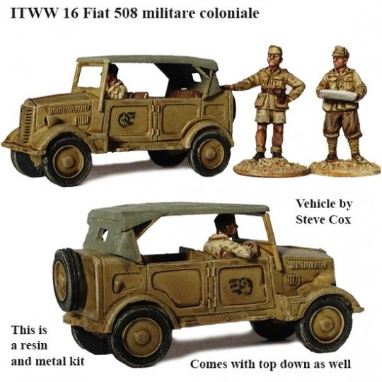 ITWW 16 Fiat staff car