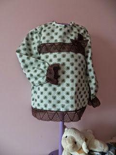 coser es fácil...: blusita terminada.....
