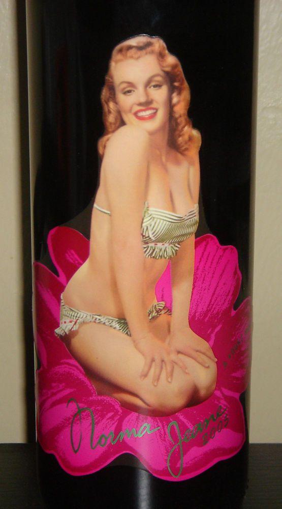 Marilyn Monroe 2005 Norma Jeane California Merlot Red Wine New Full Sealed New #MarilynMerlot #Red