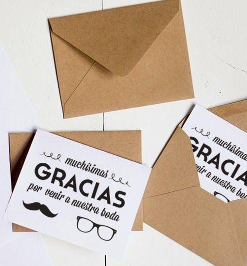 PREPARADA PARA EL BAILE: Tarjetas de agradecimiento para que las uses como quieras