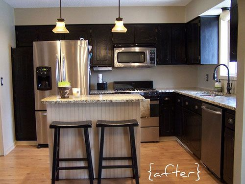 Mobile Kitchen Cabinets : Best cabinet redo for mobile home images on pinterest