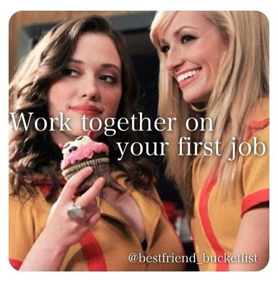 Best Friend Bucket List- we are planning on working at the ice cream shop together next year!! It will be the perfect bestie job!!