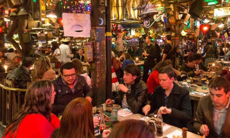 Andres Carnes de Res.Called Colombia's craziest restaurant