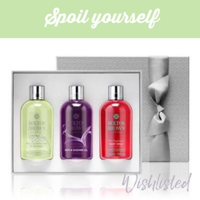 wishlisted_app Beautiful #bath and #shower goodies from @MoltonBrown make a great #giftidea for him or her - or #dropahint and put it on your #Wishlist for #ValentinesDay #spoilyourself #love #bemyvalentine