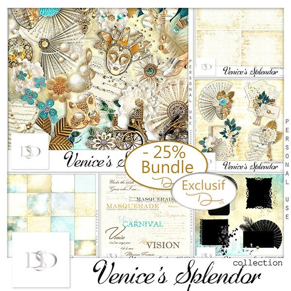 Venice's Splendor Collection by D's Design